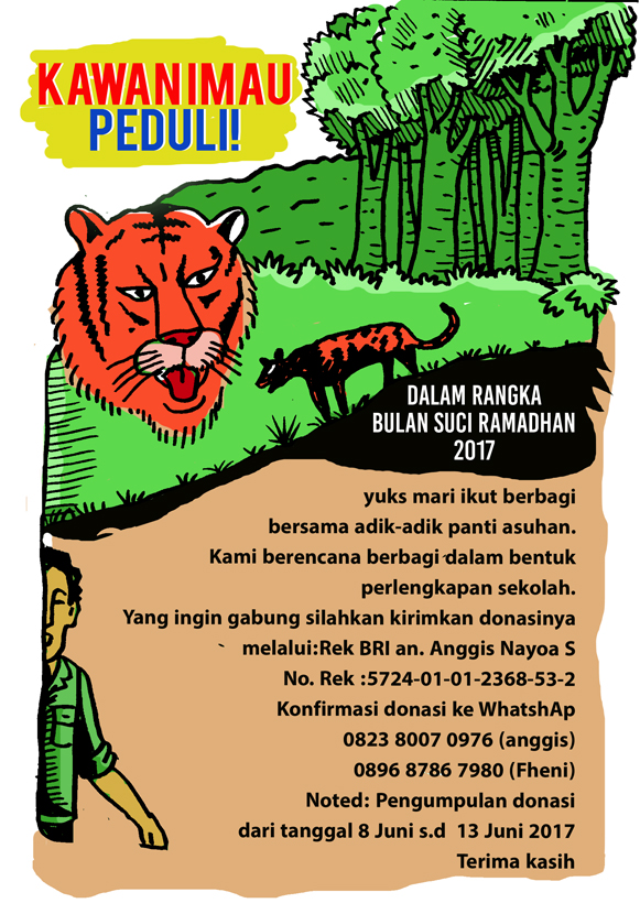 Kawan Imau Selamatkan Harimau Sumatera